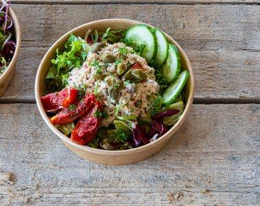Salade met tonijn